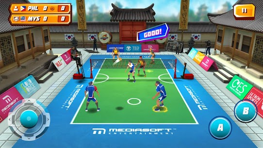 Roll Spike Sepak Takraw App Latest Version  Download For Android 8