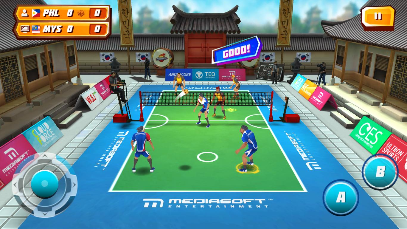 Roll Spike Sepak Takraw - Android Apps on Google Play