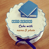 Cake with Name and Photo