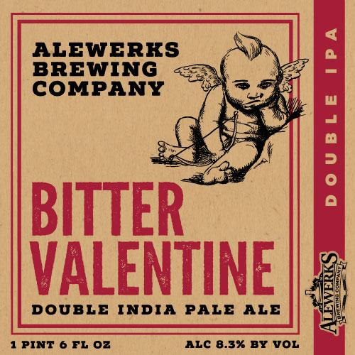 Logo of Alewerks Bitter Valentine