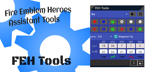 Fe Heroes Iv Calculator >> Feh Tools Calc Stats Iv Damage Apps On Google Play