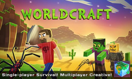 WorldCraft : 3D Build & Craft screenshot 1