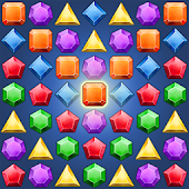 Jewelry Match Puzzle
