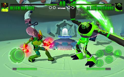 Hero Alien Force Arena Attack Mega Transform War 1