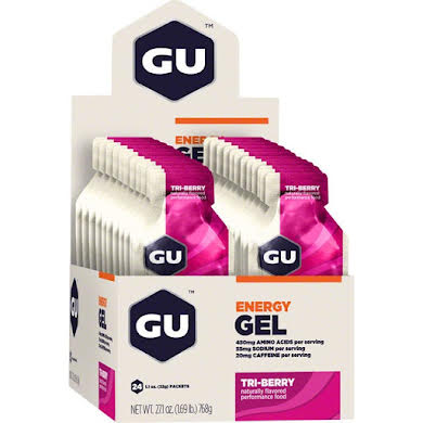 GU Energy Gel: Tri Berry, Box of 24