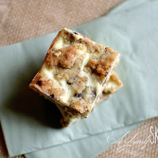 Chocolate Chip Cheesecake Bars {THM-S}