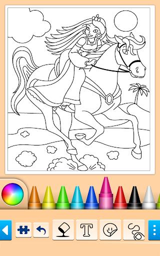 Princess Coloring Game screenshots 9