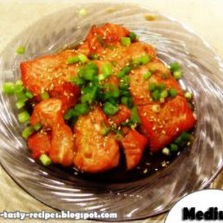 Grilled Salmon With Honey - Yummy Tasty Recipes.