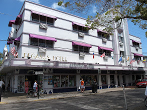Photo: Art Deco style building on Duval Street.