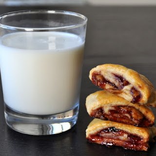Peanut Butter and Jelly Roll-Up Cookies.