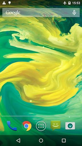 Oil Paint Live Wallpaper