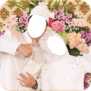 Hijab Wedding Couple Suit