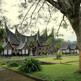 Rumah Gadang by Adi Krishna - Buildings & Architecture Public & Historical ( traditional house )