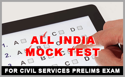 All India IAS Prelims Mock Test