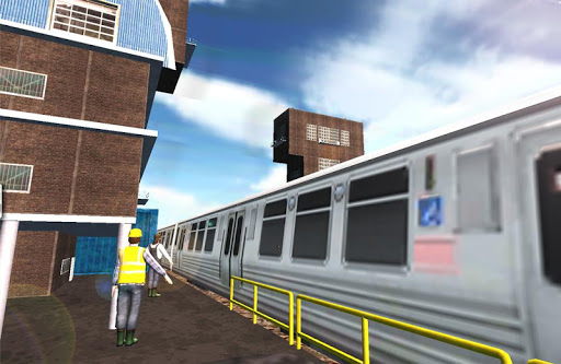 地下鉄列車のゲーム