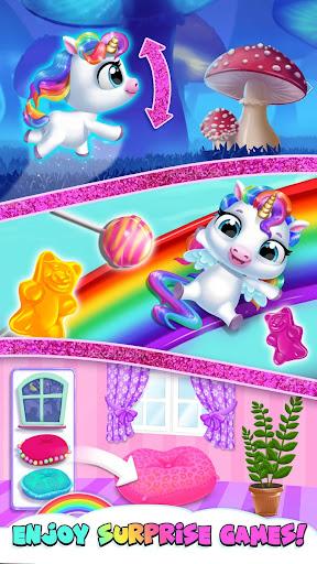 My Baby Unicorn - Cute Rainbow Pet Care & Dress Up 1.0.33 screenshots 8
