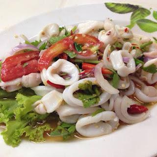 Thai Squid Recipes.