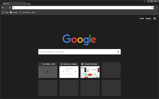 Free Addon Dark Chromes Themes