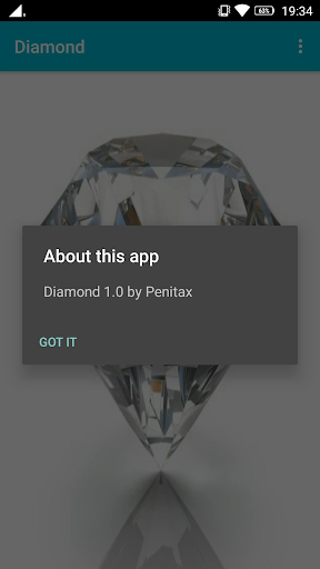 Diamond app for Android screenshot