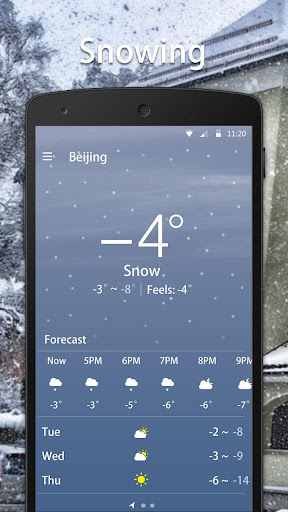 Simple Weather Forecast  screenshots 3
