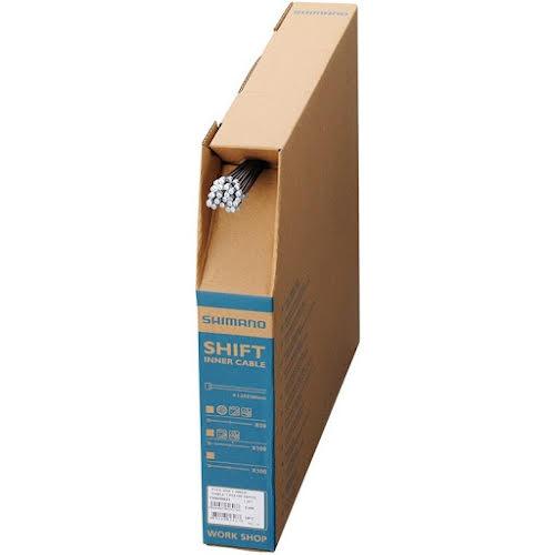Shimano Optislick Derailleur Cable 1.2 x 2100mm, Filebox of 50