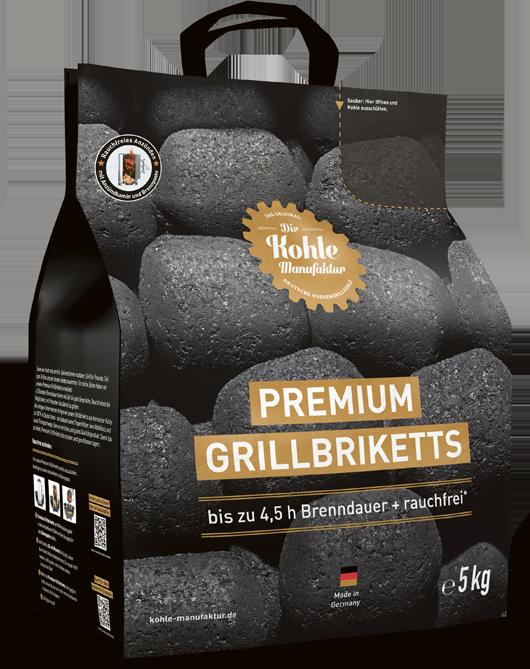 5kg Premium Grill briketten