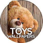 Wallpaper with toys