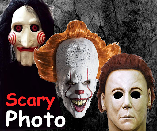 Scary Masks Photo Editor Halloween Horror image 0