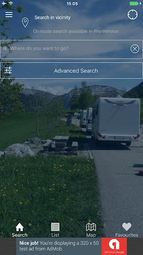 Camping App Eu Free 4.3.4 screenshots 1