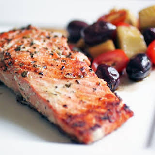 Simply Grilled Salmon.