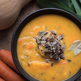 Butternut Squash Soup.