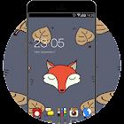 Cartoon Fox Theme: Cute animal Screensaver icon