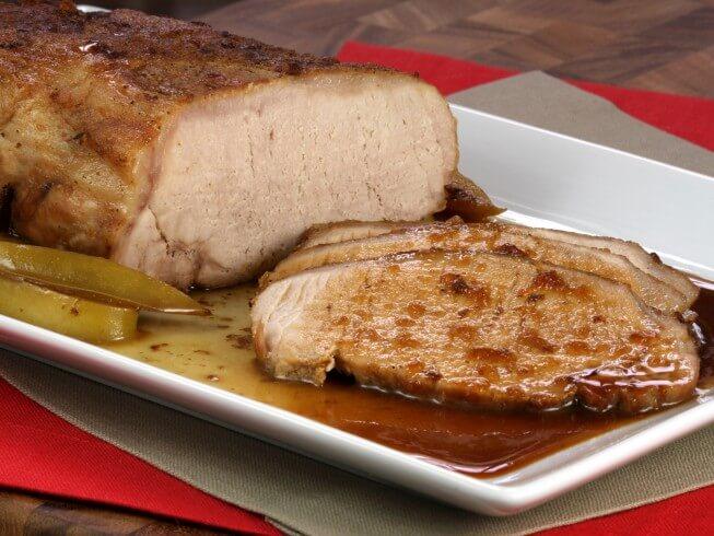 Baked Pork Tenderloin
