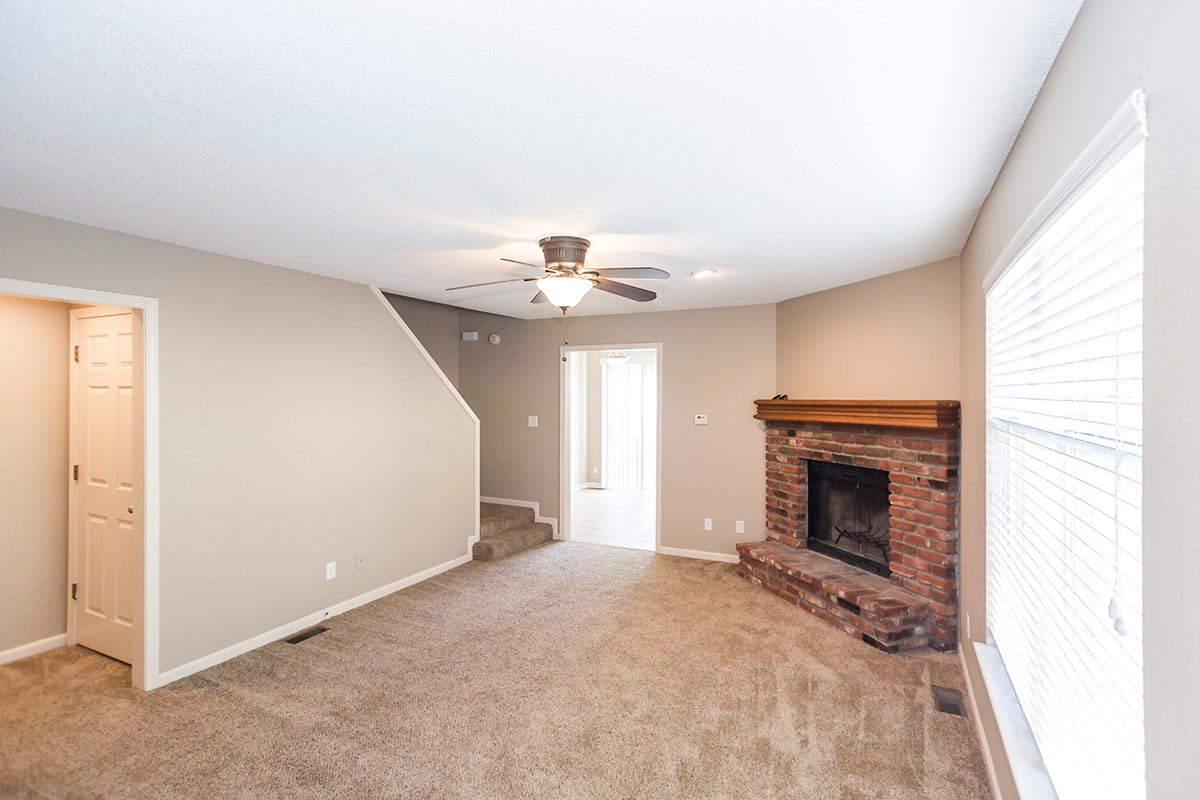 2 Bedroom Townhome A | Markey Meadow Townhome Apartments