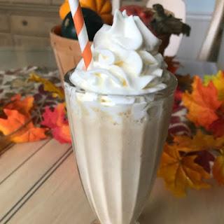 Pumpkin Spice Milkshake.