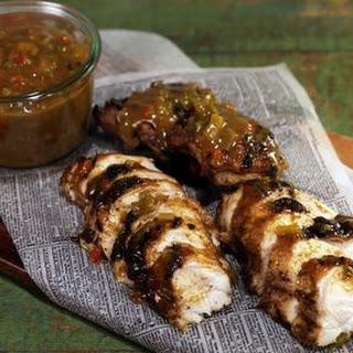 Grilled Chicken with Mango BBQ Sauce Recipe