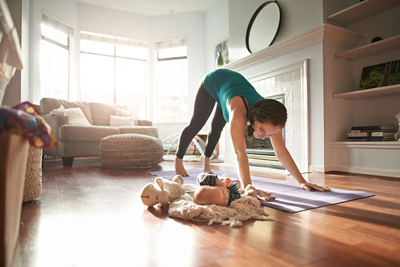This easy full-body workout that you can do at home any time makes exercise work for any schedule