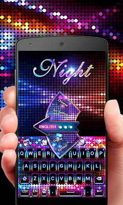 Night GO Keyboard Theme - screenshot