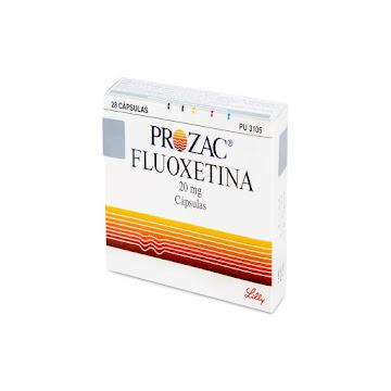 Prozac 20Mg Capsulas   Caja X28Cap. Lilly Fluoxetina