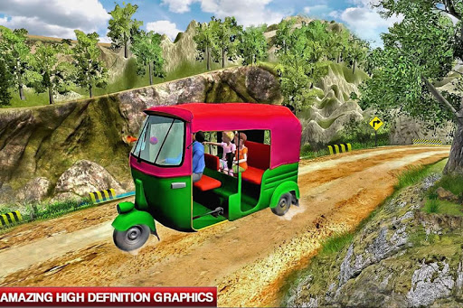 Mountain Auto Tuk Tuk Rickshaw 2.0.4 screenshots 2