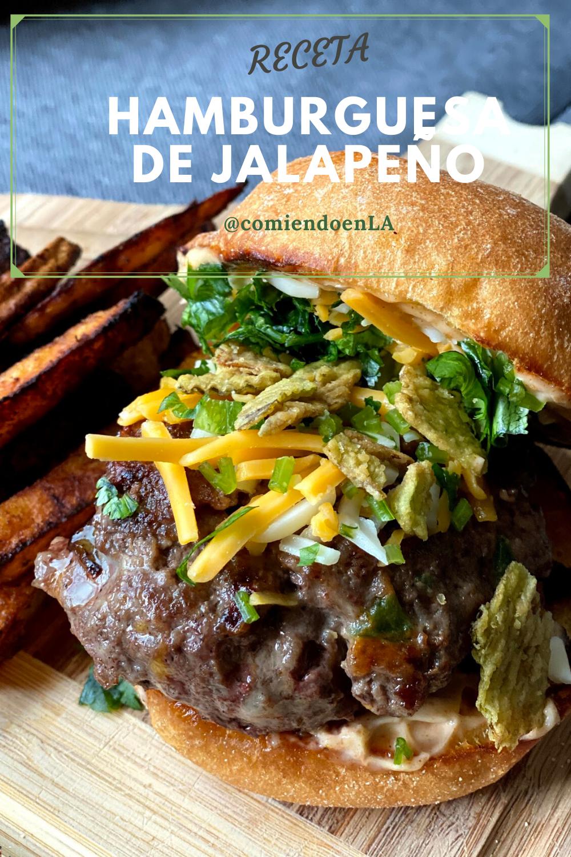 Hamburguesa de Jalapeño
