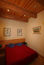 Photo: Ground Floor Double with Beams, and prints of Matisse and Van Gogh