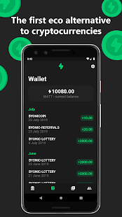 Byonicoin - the new eco currency - náhled