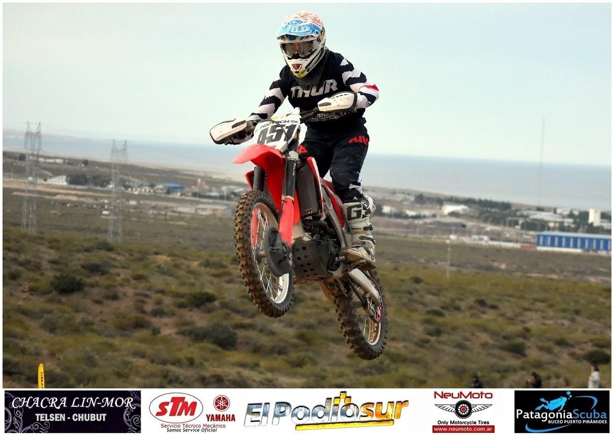 Bernardo Protsch lidera el MX Pampeano en MX 2