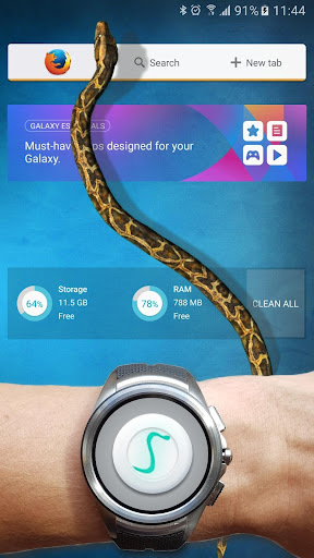 Serpiente en Pantalla de Broma screenshot 7