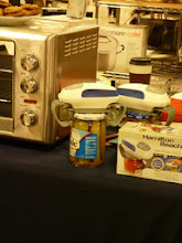Photo: Hamilton Beach Counter Top oven and Jar Opener demo.