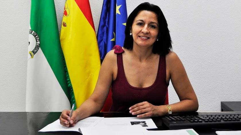 La alcaldesa de Cantoria, Puri Sánchez, ofreció una entrevista a la Cadena SER.