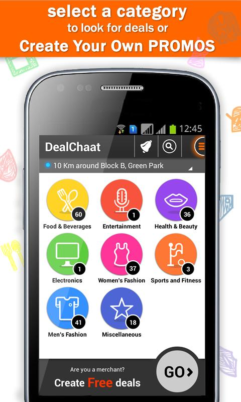 DealChaat- screenshot
