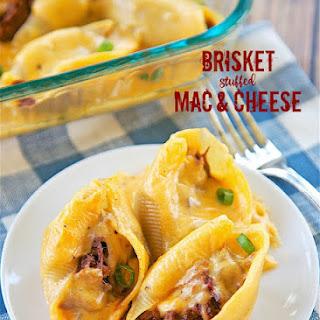 Brisket Stuffed Mac and Cheese.