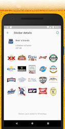 WAStickerApps beers stickers APK screenshot thumbnail 6
